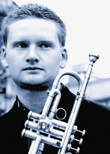 Joe Cooper trumpet, jazz band manchester, jazz band london, wedding live music