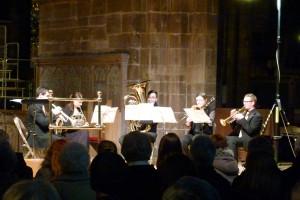 Brass Quintet London, Brass Quintet Manchester, Inspired Brass, Inspired Brass Quintet, Chester Cathedral, Live music, wedding music, brass band, north west brass, classical brass, Joel Cooper